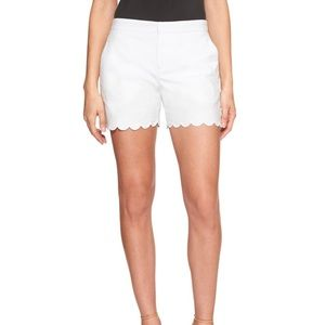 Banana republic scalloped shorts